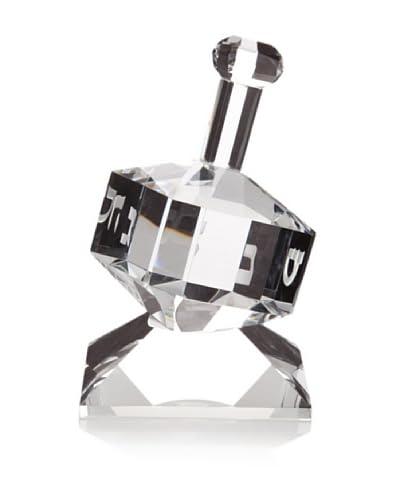 Badash Crystal Glass Dreidel