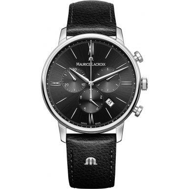 maurice-lacroix-el1098-ss001-310-1-mens-eliros-black-leather-strap-chronograph-watch