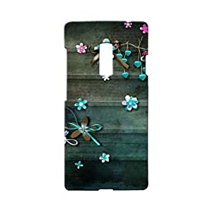 BLUEDIO Designer 3D Printed Back case cover for Oneplus 2 / Oneplus Two - G3100