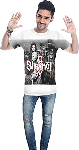 Slipknot Members Unisex T-shirt Men T-Shirt All-Over Full Print Stylish Fashion Fit Custom Apparel By Genuine Fan Merchandise X-Large