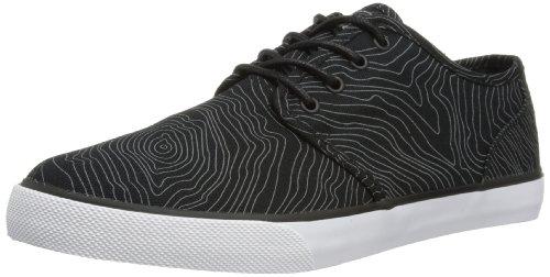 DC Shoes Mens Studio TX M Shoe Low-Top 303428 Black/Print 5 UK, 38 EU