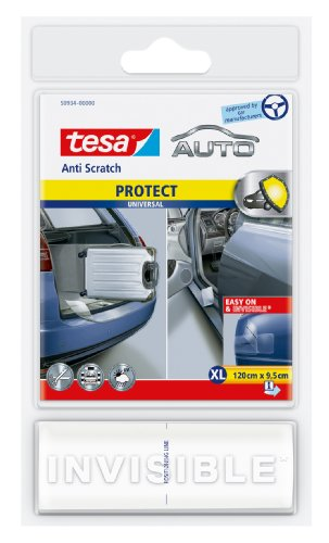 Tesa 120 x 9.5 cm Anti-Scratch Universal Self Adhesive Car Bodywork Protector