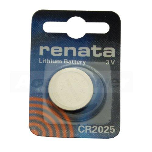 Renata CR2025.CU MFR batterie au lithium, 165mAh