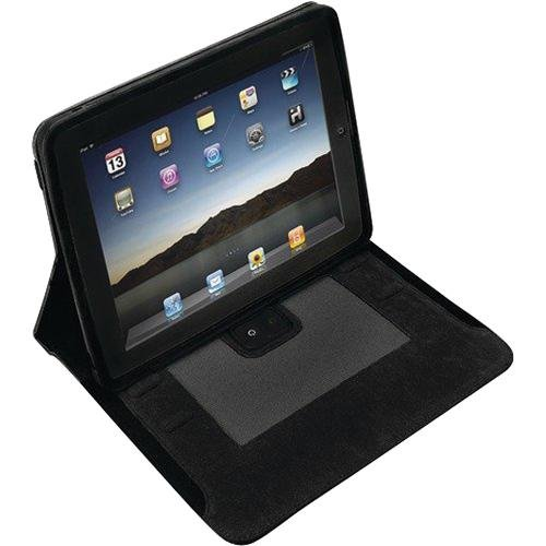 iHome iDM70BC iPad Case with Built-In Rechargeable NXT Flat-Panel Stereo Speakers (Black)