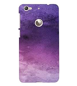 PrintVisa Purple Design 3D Hard Polycarbonate Designer Back Case Cover for LeEco Le 1S