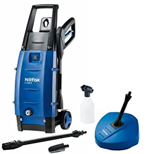 Nilfisk C110 3-5 PC X-Tra Pressure Washer Patio Cleaner Set with 1400 Watt Motor (discontinued by manufacturer)