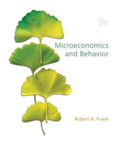 Anne Frank - Microeconomics and Behavior