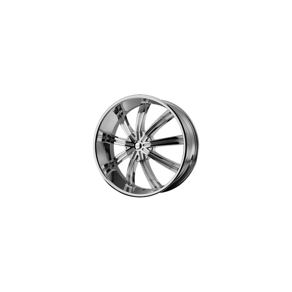 KMC KM672 20x8.5 Chrome Wheel / Rim 6x135 & 6x5.5 with a 38mm Offset and a 100.50 Hub Bore. Partnumber KM67228566238 Automotive