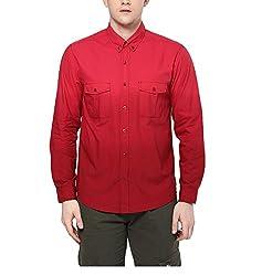 Yepme Men's Red Cotton Shirts - YPMSHRT1110_38