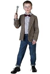 Big Boys' Doctor Professor Costume Large