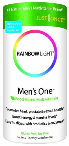Rainbow Light, Men'S One Multivitamin, 450 Gluten-Free Tablets