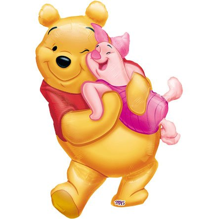 Anagram Disney Big Pooh Hug Shaped Foil Balloon