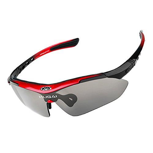 Coolchange sport sunglasses (Red, Rainbow) (Eyeglasses Insert compare prices)