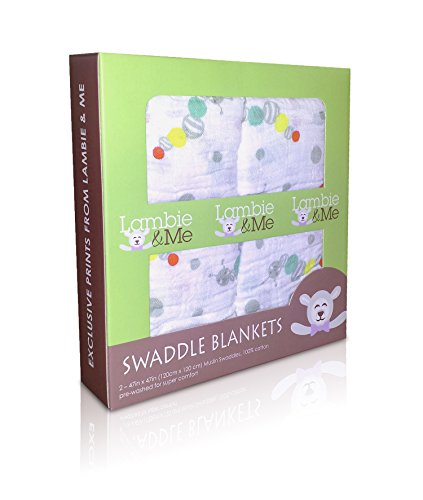 *Black Friday*Organic Muslin Cotton Swaddle Or Receiving Blanket 2 Pack Caterpillar Set In Unisex Designs (Boy/Girl). The Best Baby Shower Or Infant Gift. The Baby Care Ebook Included! front-15729