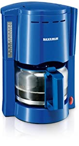 Severin KA 4042 Kaffeeautomat, blau / bis 10 Tassen / 1000 W