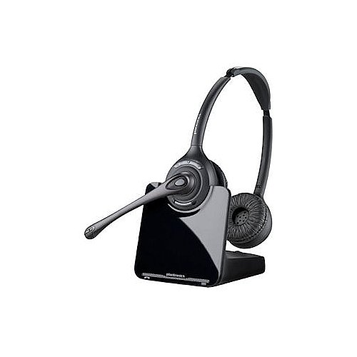 Plantronics (84692-01) Wireless Dect 6.0 Binaural Noise Canceling Headsets
