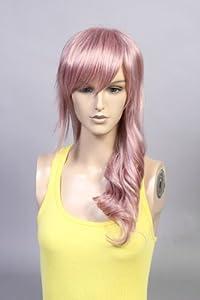 Dreaming_Cosplay Final Fantasy Lightning Wig Cosplay Convention Japan Animation Manga VINGH139