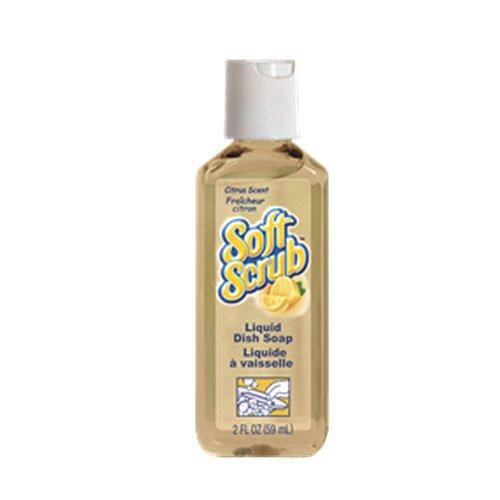 Dial 24900 00046 Soft Scrub Manual Liquid Dish Detergent Citrus Scent 2 Oz