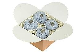 Calm Your Spirit Ultra Lush Bath Bomb Gift Set - Lavender And Chamomile All Natural Handmade Bath Bomb