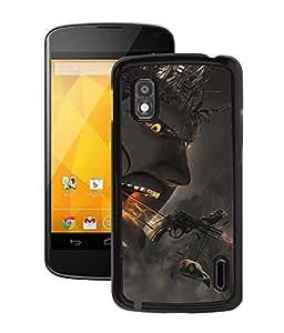Fuson 2D Printed Demon Designer Back Case Cover for LG Google Nexus 4 - D1050