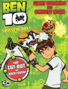 Giant Coloring & Activity Book - BEN 10 - 1