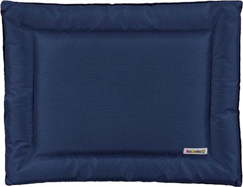"""All Seasons Mat Dog Bed By Kakadu Pet, Small, 24"""" X 18"""", Marine (Blue & Gray)"""