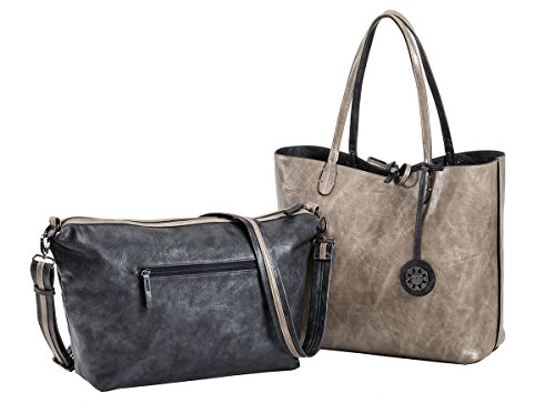 sydney-love-womens-reversible-tote-with-inner-cross-body-pouch-coal-sand-large