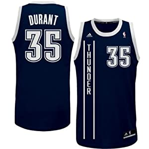 Buy Kevin Durant Oklahoma City Thunder New 2013-2014 Revolution 30 Youth Alternate Jersey Navy by adidas