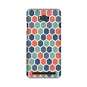 Asus Zenfone Max Perfect fit Matte finishing Motif Pattern Mobile Backcover designed by Aaranis (Multicolor) Perfect fit Matte finishing Motif Pattern Mobile Backcover designed by Aaranis (Multicolor)