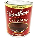 Rust-Oleum 224493H Varathane Gel Stain, Quart, Dark Walnut
