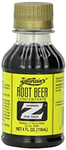 Zatarain's Root Beer Concentrate, 4 Ounce Plastic Bottles (Pack of 12)
