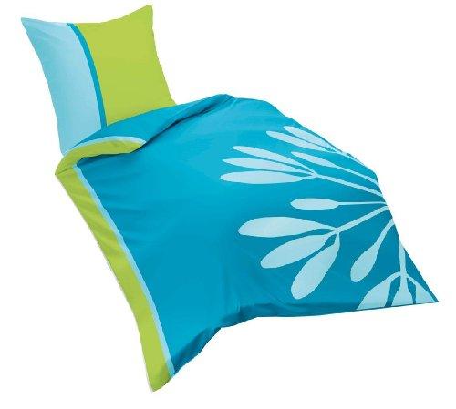 milano 112817 fb 2 mako satin bettw sche 135 x 200 cm t rkis. Black Bedroom Furniture Sets. Home Design Ideas