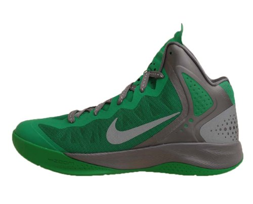 Basketball Shoes Reviews: Nike Zoom Hyperenforcer Lucky Green Silver