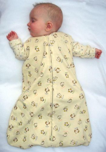Organic Cotton SleepSack Wearable Blanket - Cats & Dogs - Small