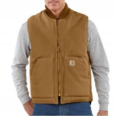 Men's Duck Vest/Arctic-Quilt Lined