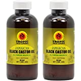 Tropic Isle Living Jamaican Black Castor Oil 4oz Pack Of 2