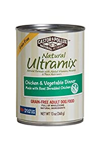 Natural Ultramix Chicken, Vgatable & Brown Rice Stew Adult Dog Food, 13.2 Ounce Cans (Case of 12)