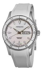 (帅气)Hamilton汉密尔顿H37555911海景双日历珍珠母表盘男士自动机械腕表  $565.46