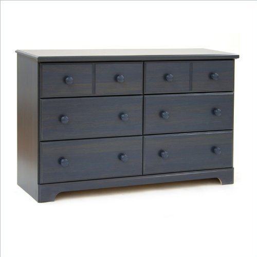 Provincetown 6 Drawer Double Dresser