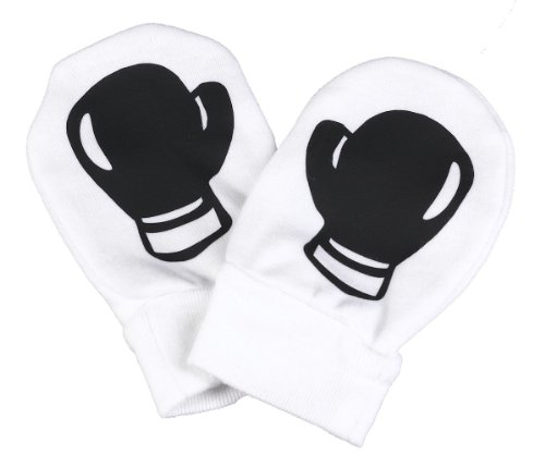 Spoilt Rotten - Boxing Gloves Design Scratch Mittens