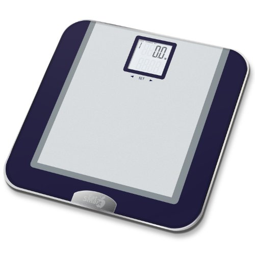 EatSmart Precision Tracker Digital Bathroom Scale w/ 400 lb. Capacity and EatSmart AccuTrack Software