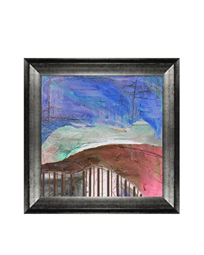 Lisa Carney Midnight Mountain Framed Giclée On Canvas