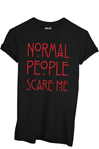 T-Shirt AMERICAN HORROR STORY NORMAL PEOPLE - FILM by iMage Dress Your Style - Donna-M-NERA