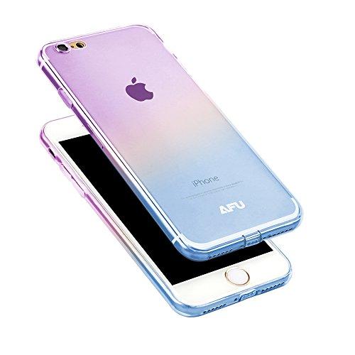 AFU iPhone7 Plus 専用ケース クリアケース アイフォンケース 耐衝撃 透明 ソフト iPhone7 Plusケース 防塵 ホコリ防止 カメラ全方位保護 全11色