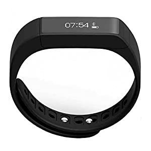Unchained Warrior Smart Fitness Tracker Watch - Best Quality Touch Screen Wearable Smart Band for Activity Tracking: Walking, Running, Cycling Calorie Counter, Sleep Tracker, Alarm, Sports Bracelet and Pedometer for Boys, Girls, Men & Women. Works with Apple iOS, Samsung HTC Huawei Android with Notifications - BLUE & BLACK BANDS