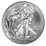 2012 American Silver Eagle Coin 1oz Uncirculated in AirTite