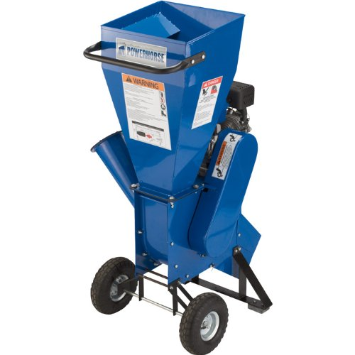 Powerhorse Chipper/Shredder - 208cc Powerhorse OHV Engine, 3in. Capacity