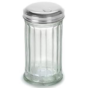 Anchor Hocking Flip Cap Glass Sugar Dispenser 12 Ounce by Anchor Hocking