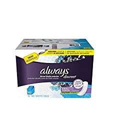 Always Discreet Pads, Moderate, Long (162 ct.) 80242340