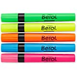 Berol by Eberhard Faber Highlighters, 12 Highlighters, Colored (1751541)